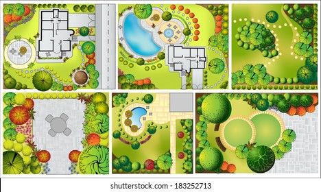 collections od landscape plan treetop 260nw