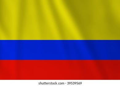 colombian flag ez canvas