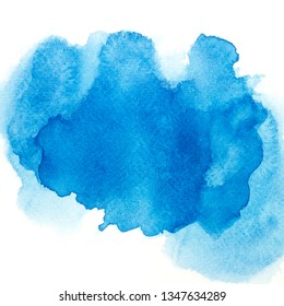 color blue watercolor.ink image