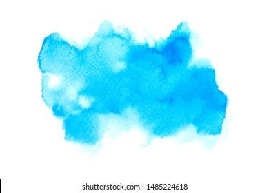 color blue watercolor painting ideas techniques background