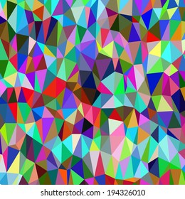 Color clean modern low poly background pattern
