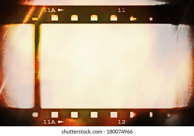 color film roll background and texture