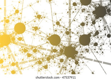 Color Network Paint Splatter Abstract Background Art