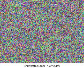 Color Noise VHS Glitch Texture
