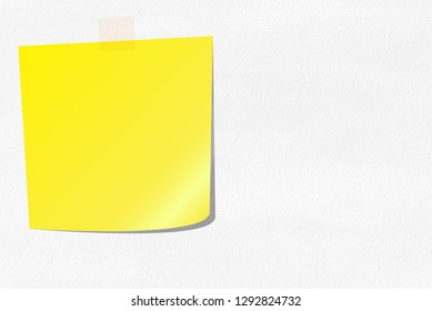 Color paper stickers for notes. Note reminder papers with curled corner illustration