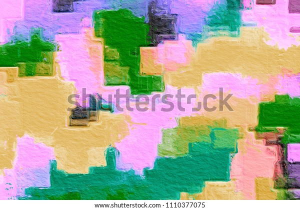 Color pastel splashes Sample Surface for your design. Gradient background texture is blurry. Love poly consisting .Beautiful. Used for paper design, book. in abstract shape Website work, stripes,tiles