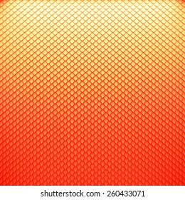 Color snake skin