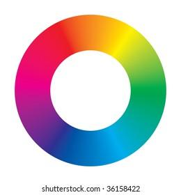 Color Wheel. See vector version in my portfolio