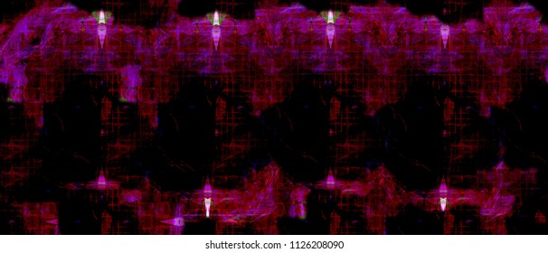 Color Widescreen Grunge Painted Background. Wide Format Abstract Painted Background - Shutterstock ID 1126208090