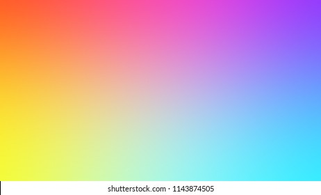 Colored blurred gradient background. To mix, Website and Elements.