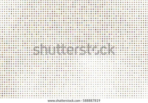 Colored circle or ellipse pattern for design wallpaper, texture or background