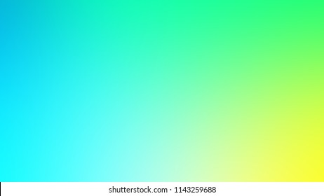 Colored gradient background light green, yellow and turquoise. Modern, Web and Degrade.