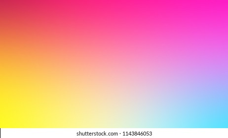Colored gradient background red, yellow, pink and blue. Banner, Image and Stylish.