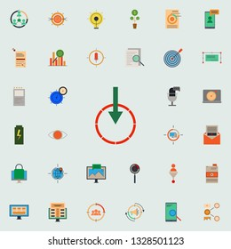colored pay per download icon. marketing and business and digital marketing icons universal set for web and mobile