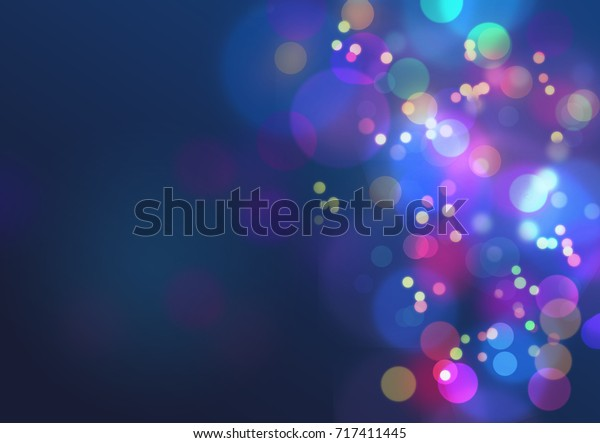 Colorful  abstract background with bokeh lights for background and wallpaper
