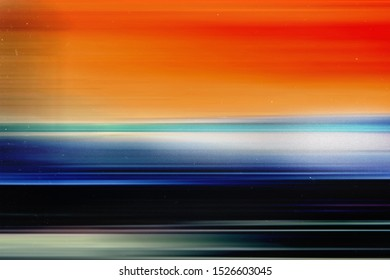Colorful abstract background. Illustration image.  Retro film photography effect. Mask for edit foto. Old wallpaper. Lens flare and heavy grain texture. Capable