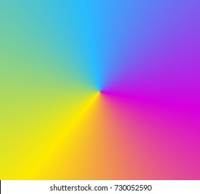 Colorful Abstract Background with Rainbow Colors, illustration