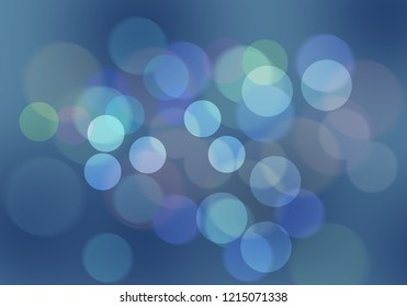 colorful of abstract blurred background for christmas and festival