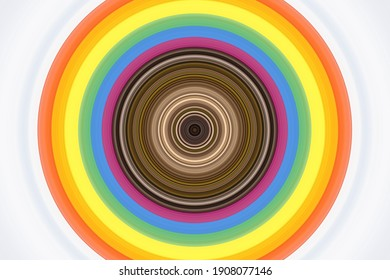 A colorful abstract circular pattern background