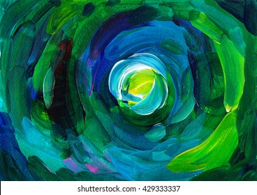 Colorful abstract oil painting, abstract oil painting background