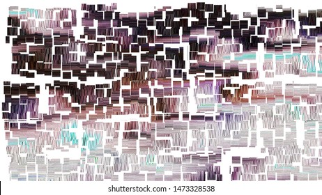 Colorful abstract pattern for textile and design