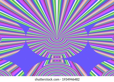Colorful Abstract Patterns 2D rendering