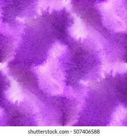 colorful abstract seamless watercolor for background purple. hand-drawn seamless watercolor for your text