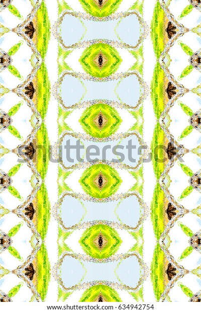 Colorful artistic vertical pattern for textile, ceramic tiles and backgrounds