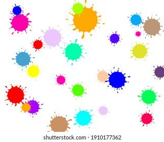 Colorful background. Design element in abstract style. Abstract background.
