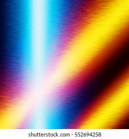 colorful background shiny metal texture as greeting card design template