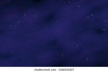 Colorful and beautiful space background. Outer space. Starry outer space texture. 3D illustration