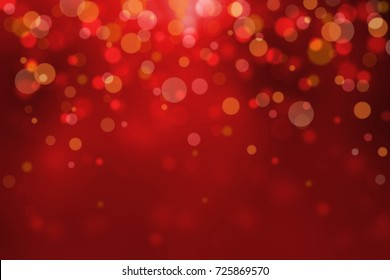 Colorful Christmas De-focused background