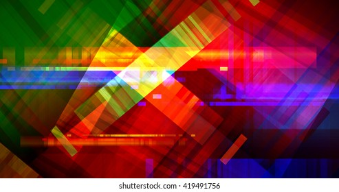 Colorful Communication Chaos Bands