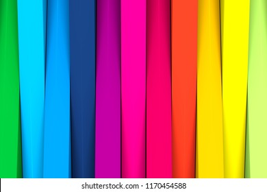 Colorful crosshire abstract background 3d illustration