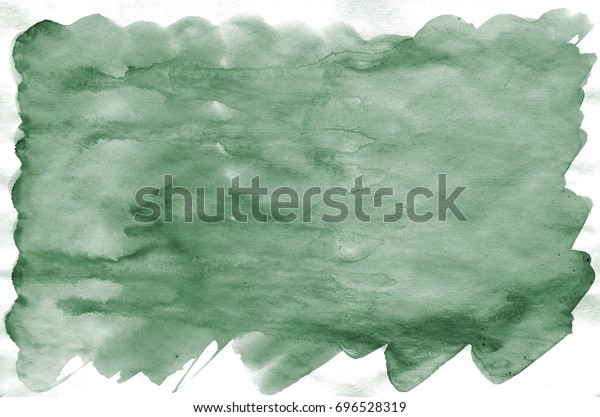 Colorful Dark Green Watercolor Background Wallpaper Stock