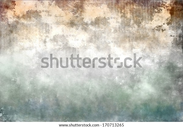 Colorful designed grunge paper and wall texture, background