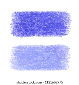 Colorful detailed backdrop with crayon scribble texture. Abstract stain isolated on white background. Design template for poster, card, banner, flyers, invitation, brochure, sale.