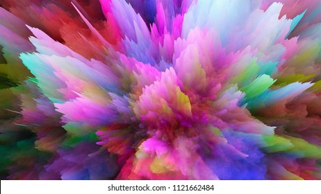 Colorful Explosion effects