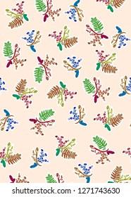 colorful flo prints