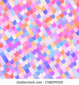 Colorful Funky Abstract Background Art