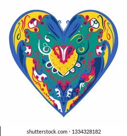 Colorful Heart illustration