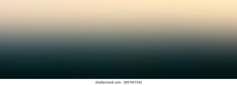 Colorful illustration in abstract style bent. Abstract gradient for background or moke up. Vibrant pattern very dark bluish green and beige white.