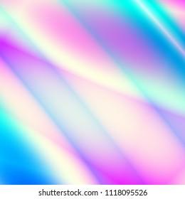 Colorful illustration modern retro color background