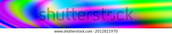 Colorful illustration widescreen header website background
