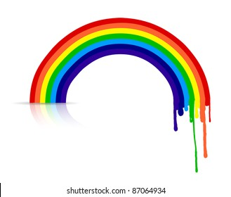 Rainbow Drip Stock Illustrations, Images & Vectors | Shutterstock