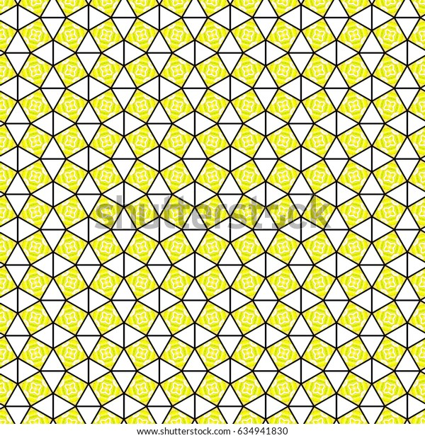 Colorful kaleidoscopic pattern for textile, ceramic tiles, wallpapers and design