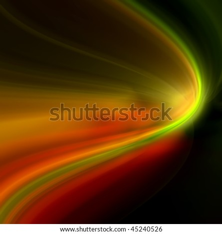 Colorful Light Motion Background Fantastic Themes Stock Illustration