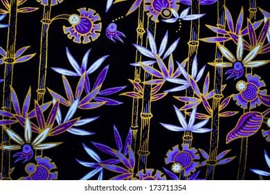 the colorful of malaysia batik