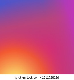 Colorful  modern fresh gradient background.