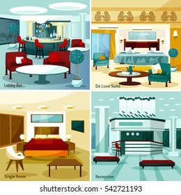 Hotel Lobby Cartoon Images Stock Photos Vectors Shutterstock